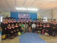 PLA 卒業式