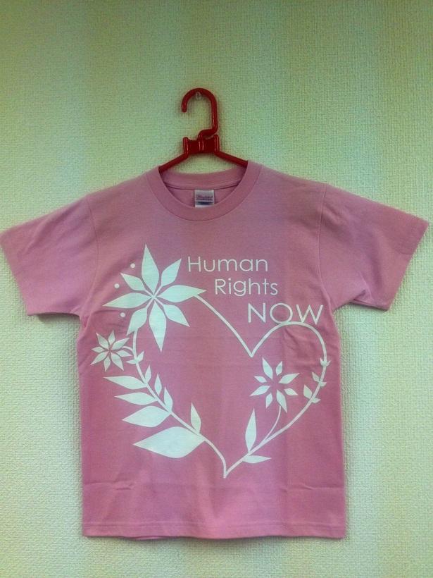 オリジナルTシャツ ピンク