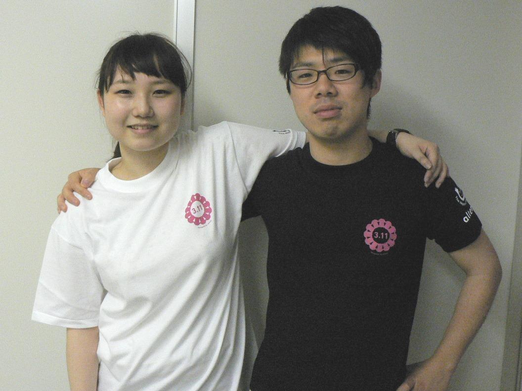 ヒューマンライツ・ナウ・オリジナル復興Tシャツ