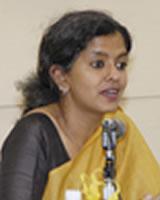 ナンディーニ・ラオ氏(インド)女性NGO Jagori コーディネーター