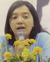 ティンティンアウン氏(ミャンマー)ビルマ女性連盟理事